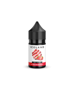 ICELAND SALT Strawberry 30ml